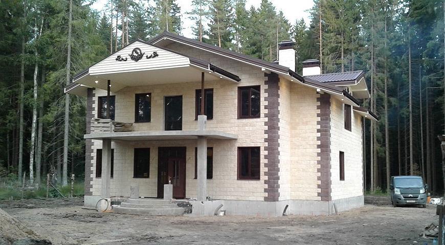Дом сами из керамзитобетона авито брянск бетон