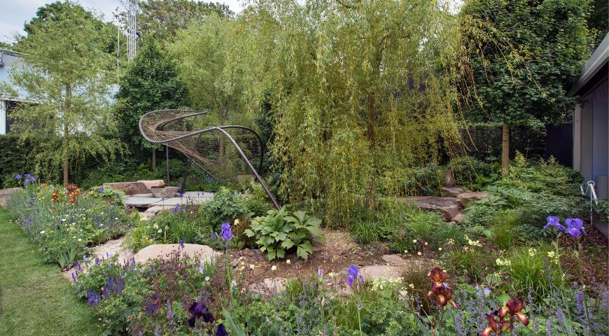 сад Джо Томпсон The Wedgwood Garden, Челси 2018