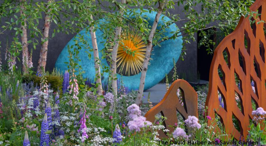 сад Ника Ховарда The David Harber and Savills Garden, Челси 2018, Chelsea Flower Show 2018