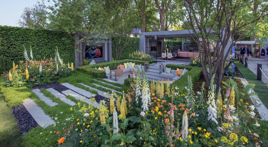 Сад LG Eco-City Garden