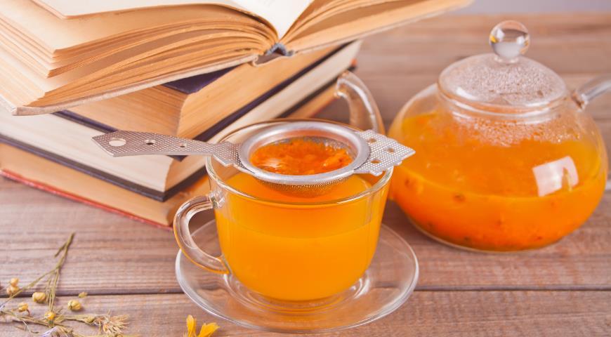 Полезный чай из облепихи
