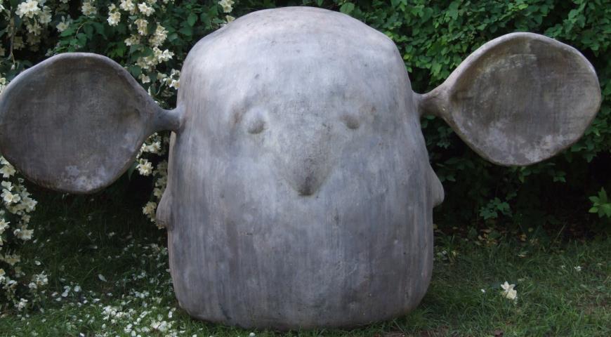 Садовый hand made: садовая фигурка из бетона