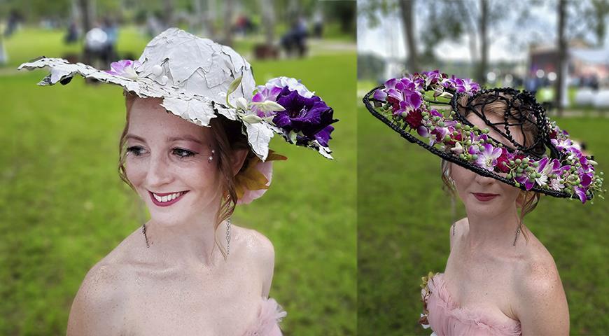 Второй открытый флористический фестиваль «Цветы Подмосковья» и конкурс «Цветочная шляпка»